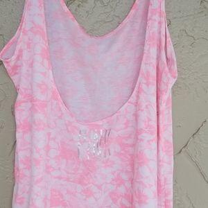 Victoria's Secret Pink Low Back Tank Top